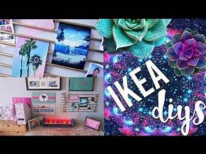Pinterest Decoration : diy room decor using ikea homeware pinterest and tumblr inspired youtube ~ Melissatoandfro.com Idées de Décoration