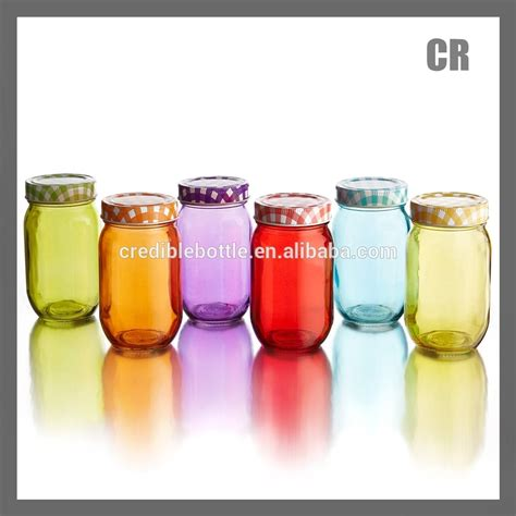 colored glass jars country colored glass jars with metal lids