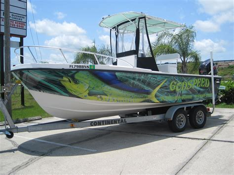 Fishing Boat Wrap Pics by Boat Wraps