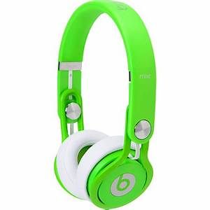 Beats By Dre Mixr Limited Edition Neon Green Headphones at