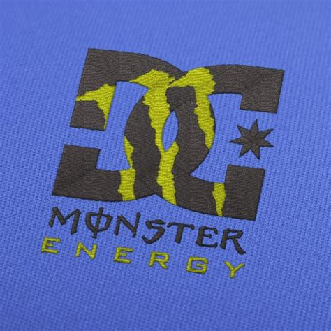 dc monster energy embroidery designs