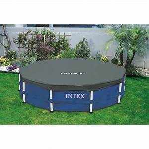 intex bache de protection pour piscine ronde 305m achat With bache hivernage piscine hors sol intex