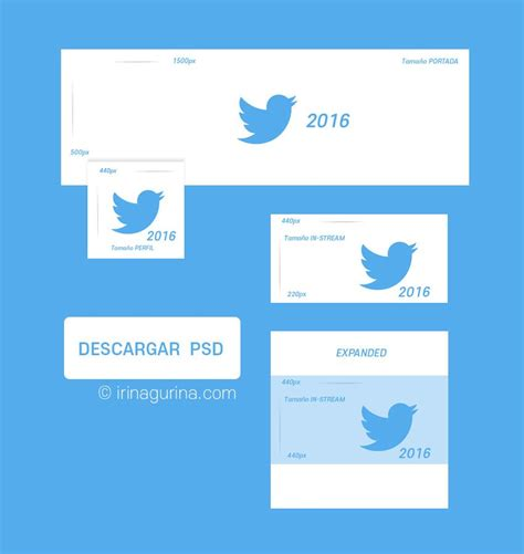twitter psd template 2016 plantilla psd para twitter 2016 portada foto de perfil