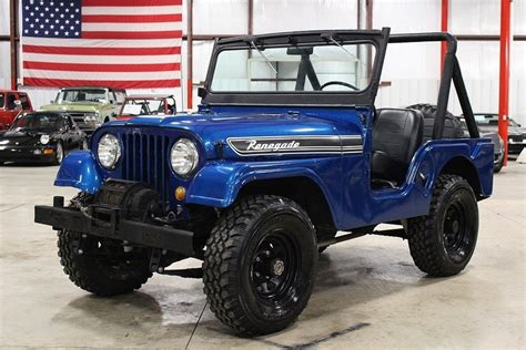 Blue 1967 Jeep Cj5 For Sale