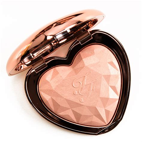 too faced ray of too faced ray of light love light prismatic highlighter