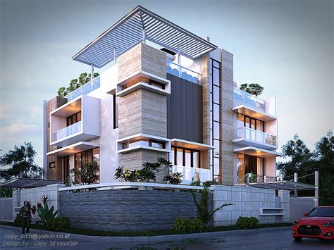Modern Two Family House