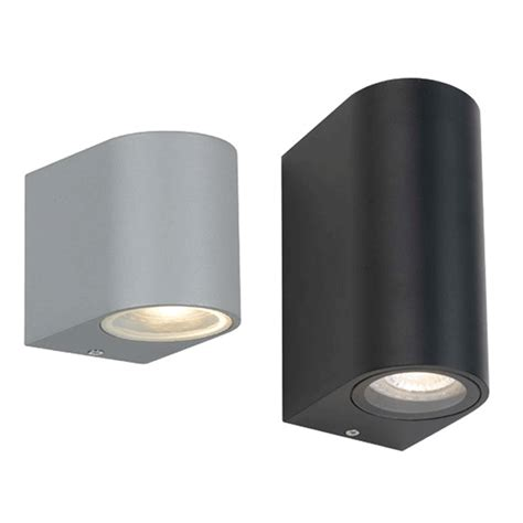 eos twin lights exterior wall l f co