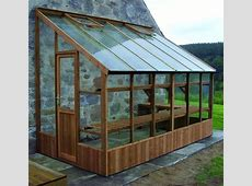 6x12 Lean To Dove Swallow South West Greenhouses