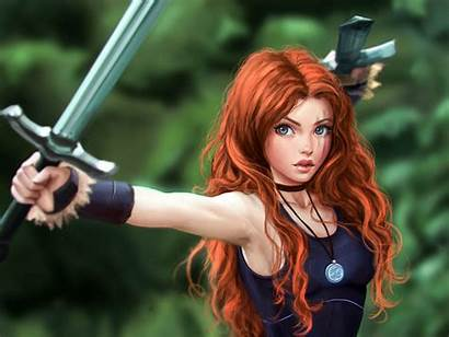 Warrior Fantasy Sword Characters Desktop Backgrounds Celtic