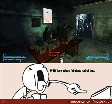 New Vegas Meme - meanwhile at my office in fallout new vegas by mysteryguy meme center