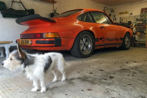 vintage orange porsche porsche 911 carrera 3 0 cranks back to life ferdinand