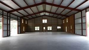 barndo inside view 50x100 barndominium in 2019