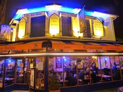 le bar belge restaurant regionaux maisons alfort horaires prix description et avis