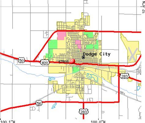 C Dodge Map by 67801 Zip Code Dodge City Kansas Profile Homes