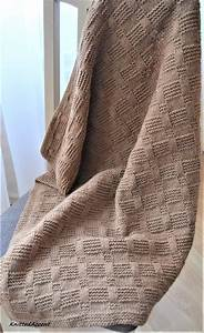 Easy Blanket Pattern  Written Instructions With Diagram