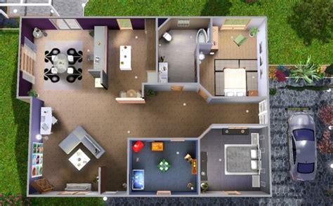 Plan De Maison Sims 4