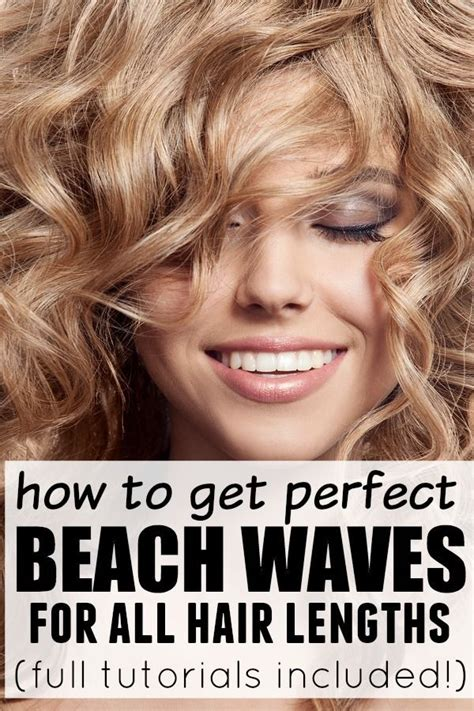 perfect beach waves medium length hairs