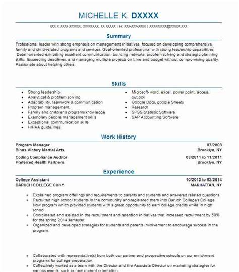 Land your dream job w/ our free resume templates & online creation wizard! Self Employed Resume Example Owner Of Cleaning Business - Columbus, Wisconsin