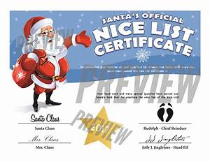 easy free letters from santa claus to children With certified letter from santa