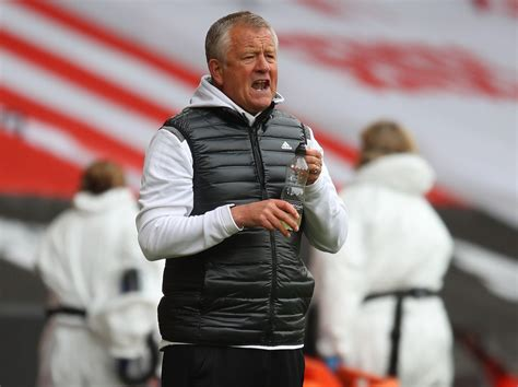 Sheffield United manager Chris Wilder bemoans the Blades ...