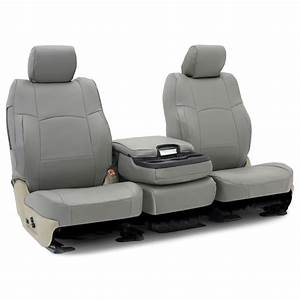Coverking Polyvinyl Set Seat Covers Front New Gray Gmc