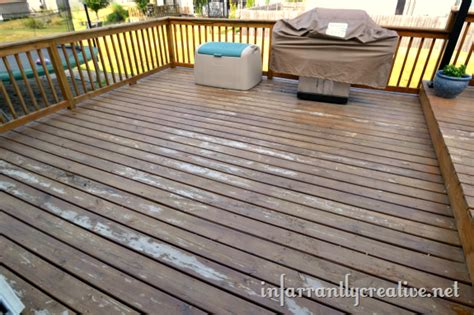 choosing  deck stain infarrantly creative
