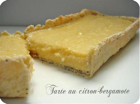 bergamote cuisine tarte au citron bergamote cuisine et dépendances