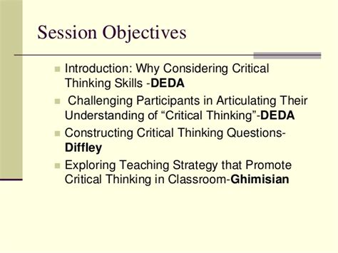How To Write Critical Thinking Skills In Resume by How To Improve Students Critical Thinking Skills Idea Paper 37 Helping Your Students Develop