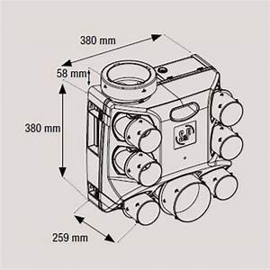Simple Flux Hygro B : kit ozeo st avec bouches piles pack vmc simple flux ~ Premium-room.com Idées de Décoration