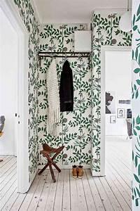 amenagement entree maison moderne accueillante et With papier peint entree maison