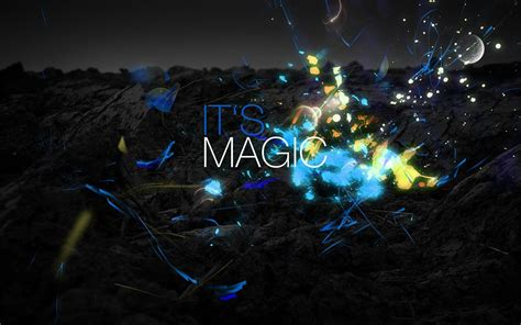 Blue Magical Wallpaper Hd by Magic Sparks Sparkles Blue Hd Wallpapers Desktop And