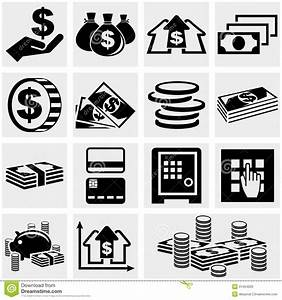 Banking, Money And Coin Vector Icons Set. Royalty Free ...