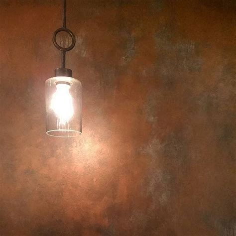 patina wall finish with copper and antique bronze metallic