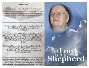 Obituary Templates Doliquid