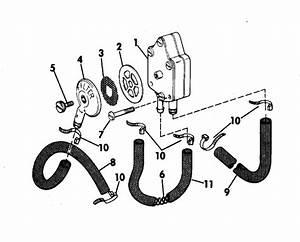 Johnson Fuel Pump Parts For 1975 70hp 70es75e Outboard Motor