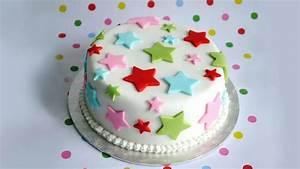 Fondant Kuchen Selber Machen Ideen Kinderparty Einhorn