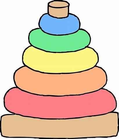 Toys Toy Clip Clipart Pile Transparent Blocks