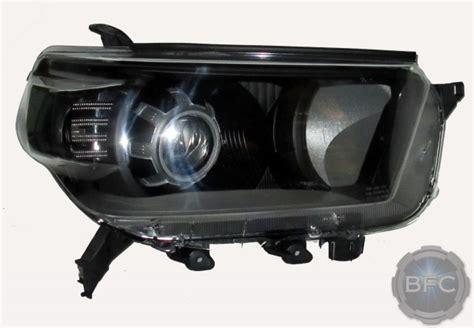 toyota runner hid projector headlights black