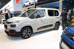 Citro U00ebn Berlingo M Et Berlingo Xtr Au Salon De Gen U00e8ve 2018 - Photo  27