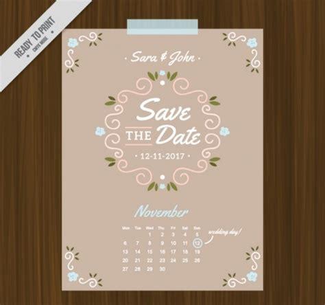 wedding calendar  psd vector eps