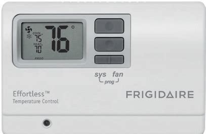 frigidaire ptac wired digital wall thermostat non programmable frigidaire frp77ptv2r 7000 btu