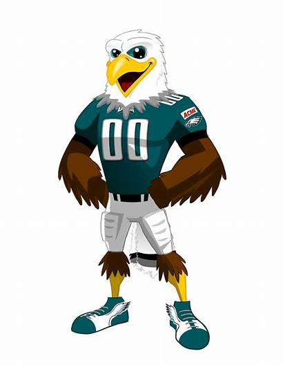 Eagles Swoop Philadelphia Cartoon Clipart Nfl Mascots