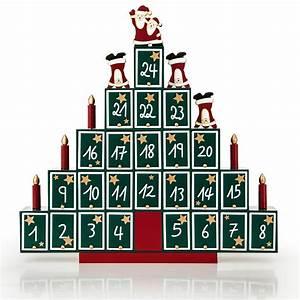 Calendrier De L Avent à Remplir Soi Meme : calendrier de l 39 avent en bois remplir soi m me pyramide ~ Melissatoandfro.com Idées de Décoration