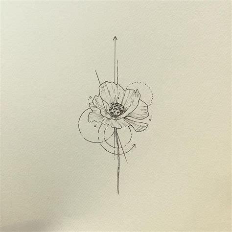 tatouage fleur idees significations  selection de