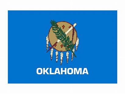 Oklahoma Flag State Flags Svg Vector