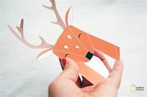 Trophée Animaux Origami : diy tutoriel troph e animaux en origami madame citron blog de cr ations et diy ~ Teatrodelosmanantiales.com Idées de Décoration