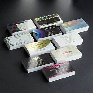 Custom standard business cards business card printing vistaprint for Getting business cards printed