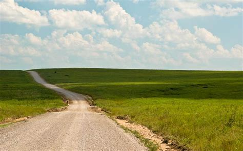wallpaper prairie road nature wallpapers