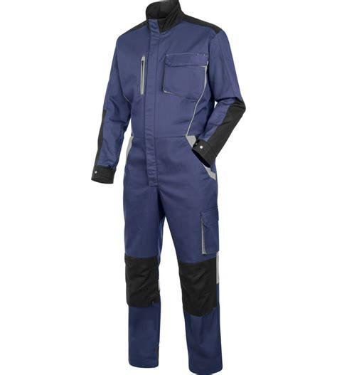 combinaison de travail bleu gris compatible lavage industriel w 252 rth modyf
