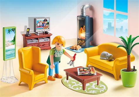 Playmobil Maison Tradition 5308 Salon Avec Poêle à Bois